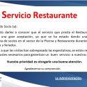 Atención Restaurante