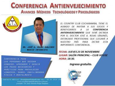 Conferencia Antienvejecimiento