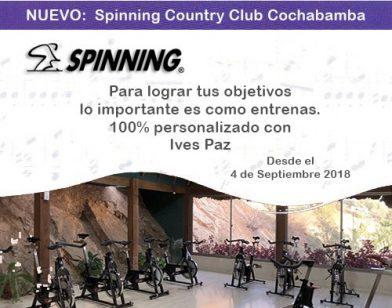 Clases de Spinning – Nuevo Horario