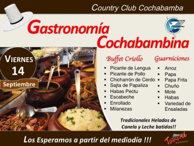 Gastronomía Cochabambina – Los Esperamos!!