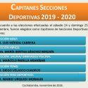Capitanes Secciones Deportivas  2019 -2020