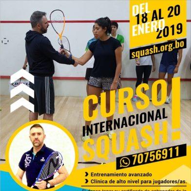 Curso Internacional de Squash