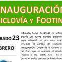 Inauguración Ciclovía y Footing