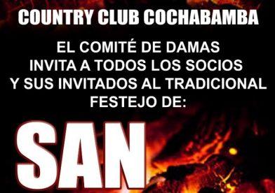 Festejo de San Juan !!