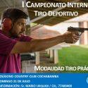 I Campeonato Interno de Tiro Deportivo