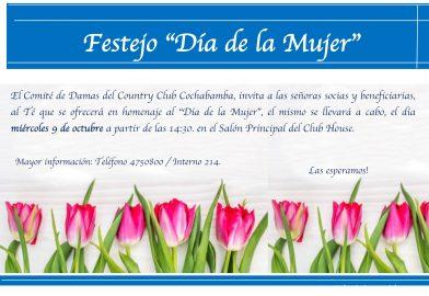 Festejo » Día de la Mujer»