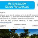 Actualización Datos Personales