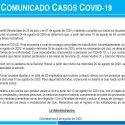 Comunicado Casos Covid -19
