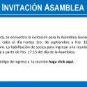 INVITACIÓN ASAMBLEA