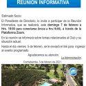 Invitación Reunión Informativa